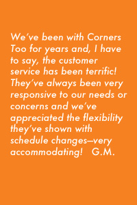 Testimonial - Terrific Customer Service